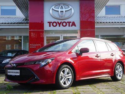 brugt Toyota Corolla Touring Sports 1,8 B/EL H3 Smartpakke E-CVT 122HK Stc 6g Aut.
