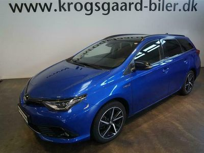 brugt Toyota Auris Touring Sports 18 Hybrid Selected Bi-tone 136HK Stc Aut.
