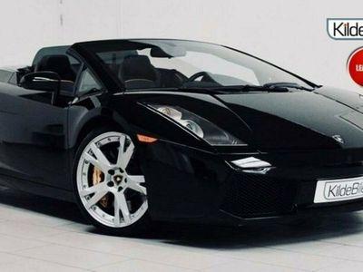 brugt Lamborghini Gallardo 5,0 Spyder E-gear