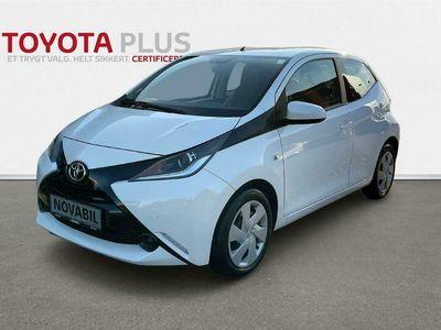 brugt Toyota Aygo 1,0 VVT-I X-Play + Plus pakke 69HK 5d A++