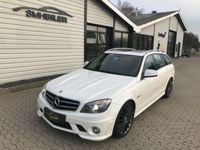 brugt Mercedes C63 AMG 6,3 AMG stc. aut.