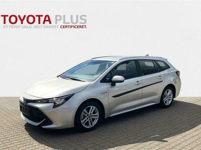 brugt Toyota Corolla Touring Sports 1,8 Hybrid H3 Smartpakke E-CVT 122HK Stc Trinl. Gear