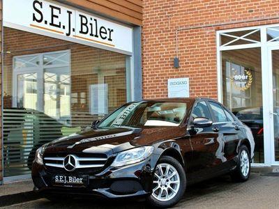 brugt Mercedes C200 d 2,2 Business 136HK aut 4d