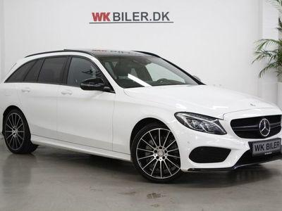brugt Mercedes C250 d 2,2 AMG Line stc. aut. 4-M