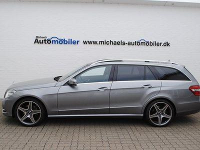 brugt Mercedes E300 CDi Elegance st.car aut. BE