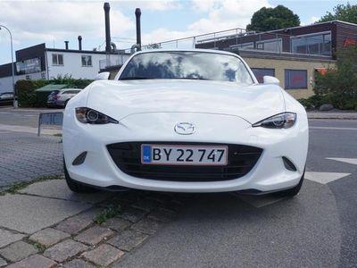used Mazda MX5 RF 2,0 Skyactiv-G Sport-pakke 160HK Cabr. 6g