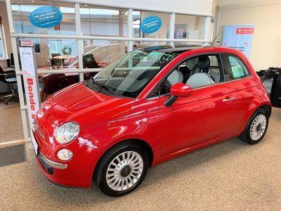 brugt Fiat 500 1,2 Lounge AUTOMATIC 69HK 3d