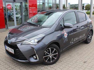 used Toyota Yaris 1,5 Hybird H3 Smartpakke E-CVT 100HK 5d