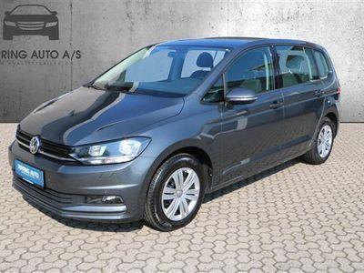 używany VW Touran 1,2 TSI BMT Trendline 110HK 6g - Personbil - gråmetal - 7 pers.