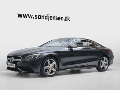 brugt Mercedes S63 AMG 5,5 AMG Coupé aut. 4-M