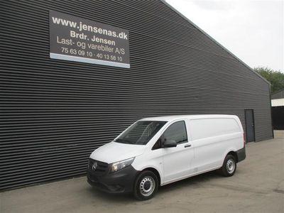 brugt Mercedes Vito 114 KASSEVOGN LANG 2,1 CDI BlueEfficiency Go 136HK Van 2018