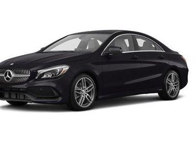 brugt Mercedes CLA220 d 2,1 D 7G-DCT 177HK 4d 7g Aut. - Personbil - sort