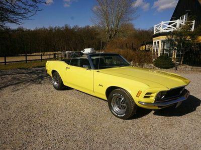 brugt Ford Mustang 5,7 351cui V8 Fastback cab