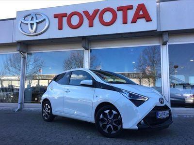 brugt Toyota Aygo 1,0 VVT-I X-Cellence + Connect 72HK 5d