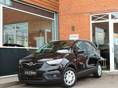 brugt Opel Crossland X 1,2 Excite 81HK 5d A+