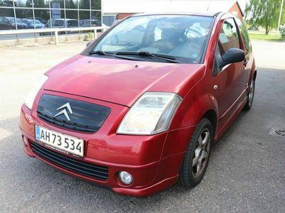 brugt Citroën C2 1,4 Elegance Sensodrive