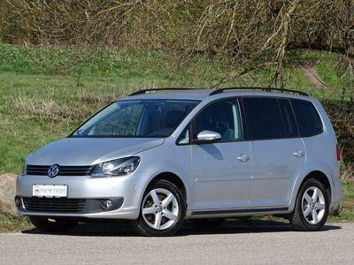 brugt VW Touran 2,0 TDi 140 Comfortline DSG BMT 7p