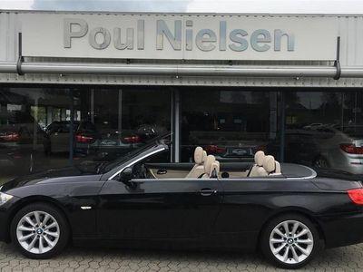 brugt BMW 320 Cabriolet d 2,0 D 184HK 6g Aut.