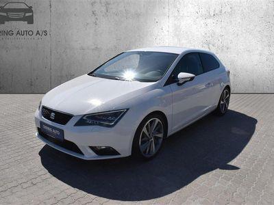 brugt Seat Leon 1,4 TSI Style 140HK 3d 6g - Personbil - Hvid