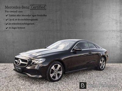 brugt Mercedes E220 1 D 9G-Tronic 170HK 3d 9g Aut.
