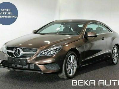 brugt Mercedes E250 Coupé aut.