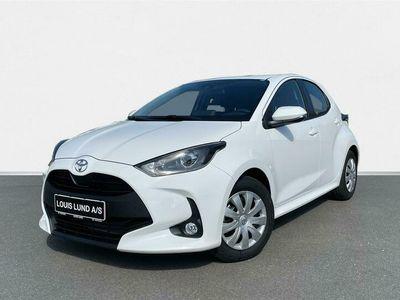 brugt Toyota Yaris 1,0 VVT-I T3 72HK 5d A++