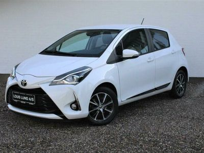 brugt Toyota Yaris 1,5 VVT-I T3 Smartpakke 111HK 5d 6g A