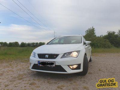 brugt Seat Leon ST 2,0 TDI FR 184 hk DSG