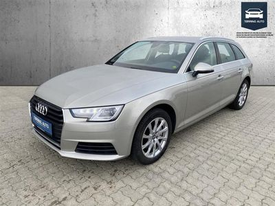 brugt Audi A4 Avant 2,0 TDI 190HK Stc 6g - Personbil - Beigemetal