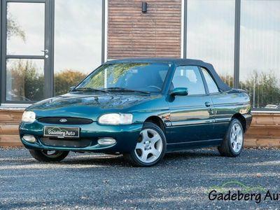 brugt Ford Escort Cabriolet 1,6i 16V Ghia