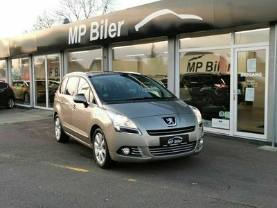 brugt Peugeot 5008 1,6 HDi 114 Style Limited 7prs