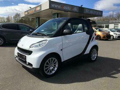 brugt Smart ForTwo Cabrio 0,8 CDI Pure 54HK