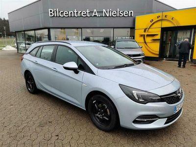 brugt Opel Astra Sports Tourer 1,5 Turbo EuroLine 122HK Stc