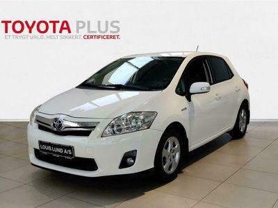 brugt Toyota Auris Hybrid 1,8 B/EL 136HK 5d Aut. A++