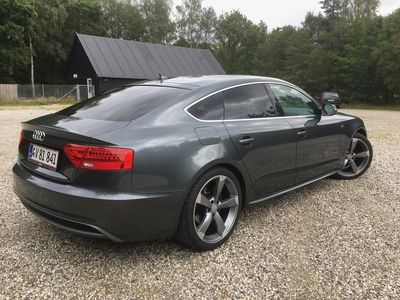 brugt Audi A5 Sportback 2.0 TDI 177 HK 5-DØRS