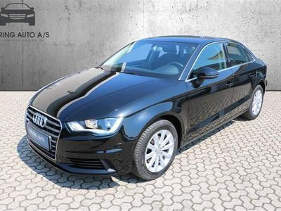 brugt Audi A3 1,4 TFSI Attraction 125HK 6g - Personbil - sortmetal