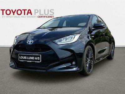 brugt Toyota Yaris 1,5 Hybrid H3 Smart 116HK 5d Trinl. Gear
