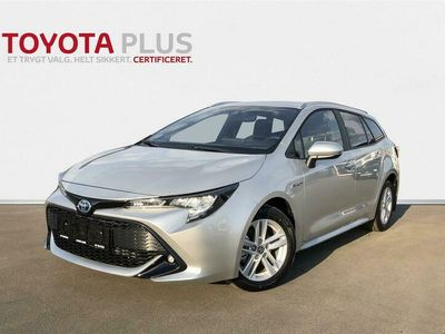 brugt Toyota Corolla Touring Sports 1,8 Hybrid H3 E-CVT 122HK Stc Trinl. Gear A+++