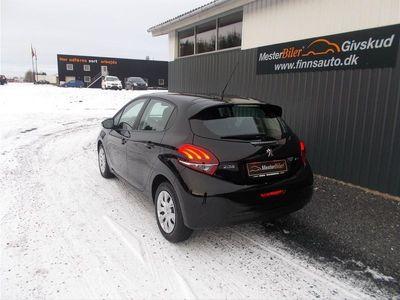 brugt Peugeot 208 2081,6 BlueHDi Active 100HK 5d