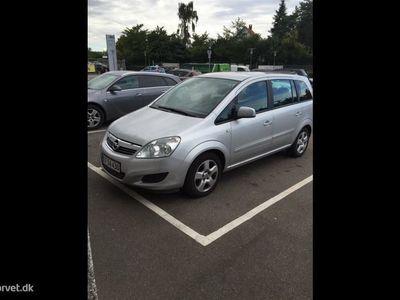 brugt Opel Zafira 1,6 Twinport Enjoy 115HK
