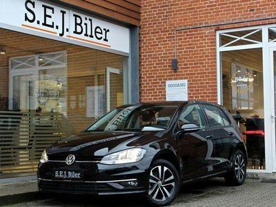 brugt VW Golf VII 1,6 TDi IQ.Drive DSG 115HK aut 5d
