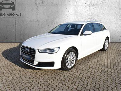 brugt Audi A6 Avant 2,0 TDI Ultra S Tronic 190HK Stc 7g Aut. - Personbil - Hvidmetal