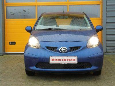 brugt Toyota Aygo 1,0 Plus Blue