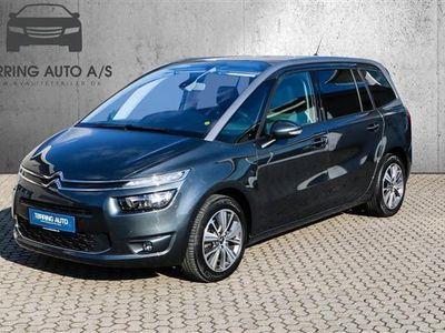 brugt Citroën Grand C4 Picasso 2,0 Blue HDi Intensive EAT6 start/stop 150HK 6g Aut. - Personbil - mørkgrå - 7 pers.