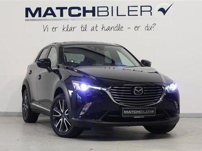 used Mazda CX-3 2,0 Skyactiv-G Optimum 120HK 5d 6g