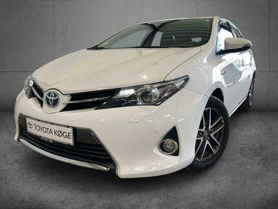 brugt Toyota Auris Hybrid 1,8 VVT-I Premium E-CVT 136HK 5d Aut.