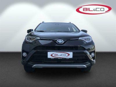 brugt Toyota RAV4 2,5 Hybrid H3 Safety Sense 4x4 197HK 5d 6g Aut.
