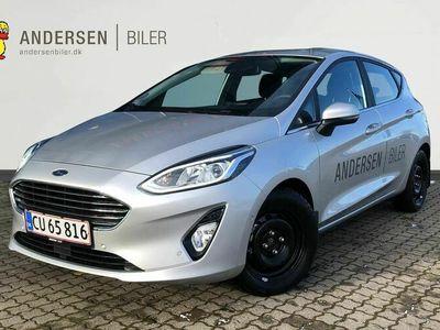 brugt Ford Fiesta 1,0 EcoBoost Hybrid Titanium X Start/Stop 125HK 5d 6g