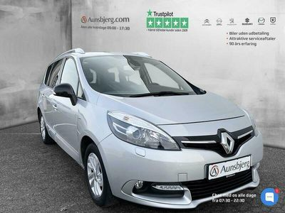 brugt Renault Grand Scénic 1,5 DCI Limited EDC 110HK 6g Aut.