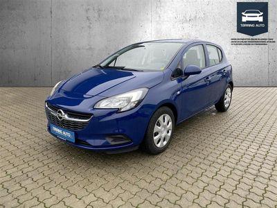 brugt Opel Corsa 1,4 ECOTEC Excite 90HK 5d - Personbil - Mørlblå